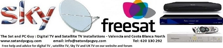 UK TV in Spain - British TV in Spain - Sky TV in Spain