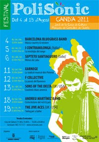 Summer Concerts in the Gardens of the Casa de Cultura de Gandia August 2011