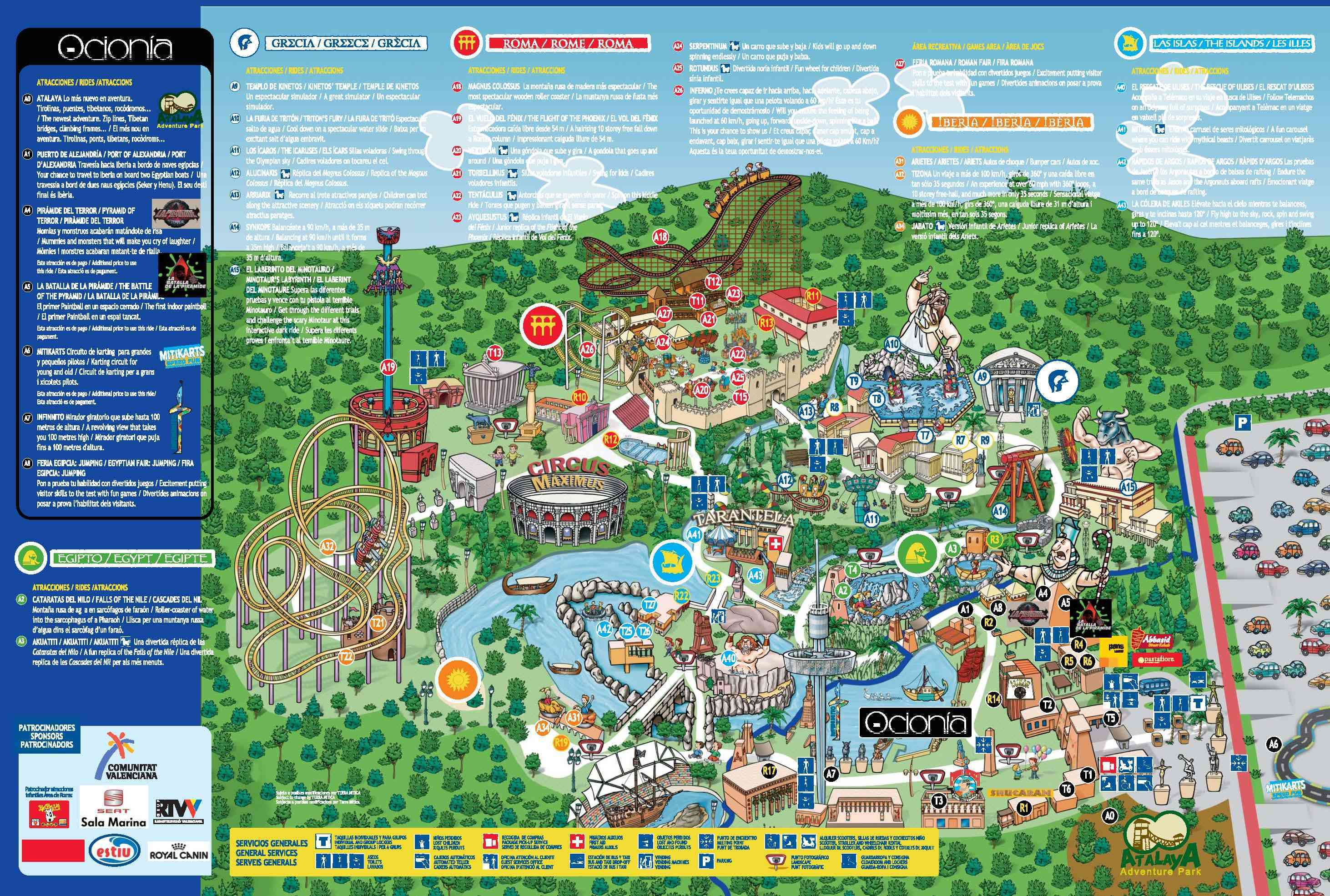benidorm tourist map large benidorm maps for free download and  - tourist attractions near benidorm spain » home design