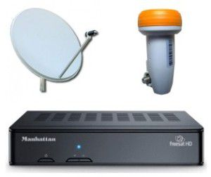 110x120cm Satellite dish installations UK TV Costa Blanca and Spain - Freesat Sky IPTV