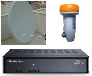 125x135cm Satellite dish installations UK TV Costa Blanca and Spain - Freesat Sky IPTV