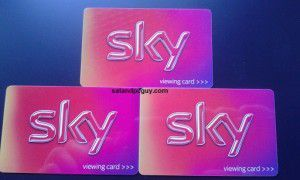Replacement Sky Viewing Cards 2015