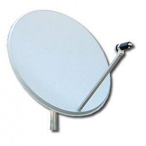 90cm Offset Satellite Dish
