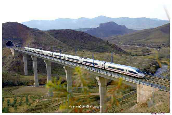 high spped trains in spain