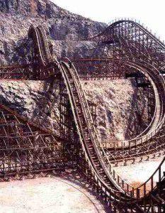 Magnus Colossus Rollercoaster terra mitica theme park