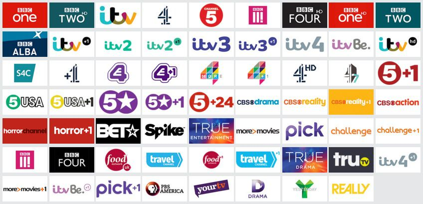 freesat channels