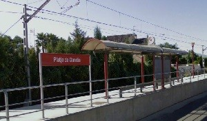 Grau de Gandia Train Station