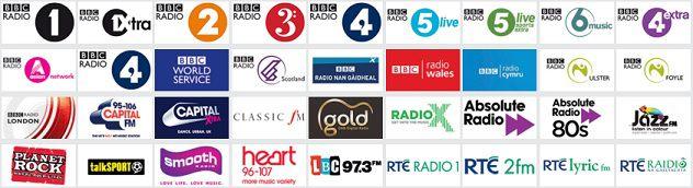 Radio Stations on Satellite