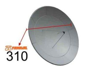 3.1 Prime Focus Satellite Dishes