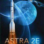 Astra 2E Satellite Picture Poster