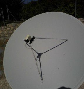 famaval 1.8m Prime Focus Satellite Dishes