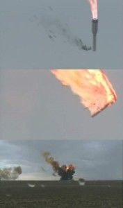 Proton-M rocket crashed