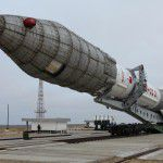 Astra 2G Satellite Proton Rocket launch pad