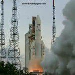 Ariane 5 and Astra 2F