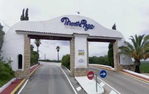Monte Pego Urbanization entrance