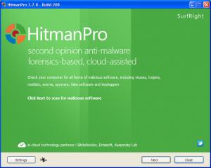 hitmanpro, adware free scanner