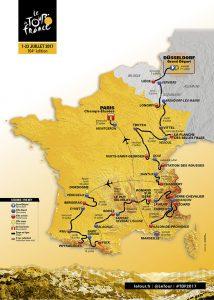 tour de france 2017 route map