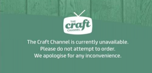The Craft Channel has ceased broadcasting on Sky and Freesat