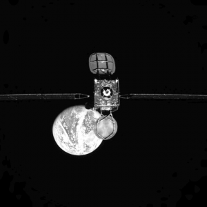 MEV1 took this image of I901 prior to docking