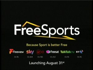 New free sports channel Free Sports coming soon – The Sat